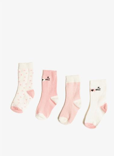 Koton Çorap Seti Pembe